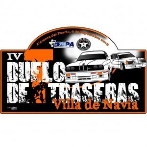 Placa IV duelo de traseras Villa de Navia