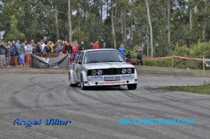 V subida a Oia - Rubén Blanco - BMW 320i e21